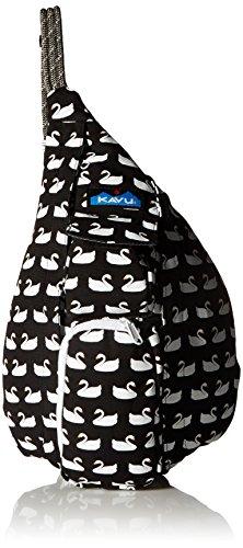 KAVU Mini Rope Bag, Swan Love, One Size