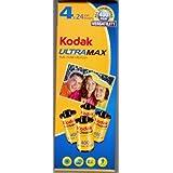 Kodak UltraMax Film 4 Rolls 24 Exposure 35mm Film ISO 400 Speed