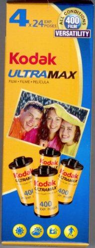 Kodak UltraMax Film 4 Rolls 24