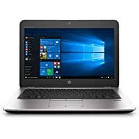 HP Elitebook 725 G4 12.5 Notebook, Windows, AMD A12 2.1 GHz, 8 GB RAM, 256 GB SSD, AMD Radeon R7 , Silver (1GF02UT#ABA)