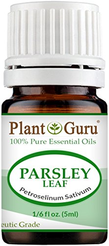 Parsley Essential Oil (Parsley Leaf Essential Oil 5 ml. 100% Pure Undiluted Therapeutic Grade.)