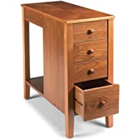 Levenger No Room for a Table Table with Drawers-Nat. Cherry