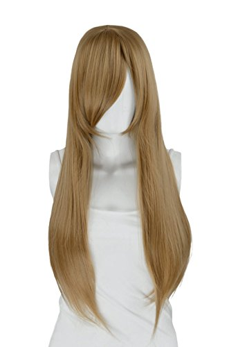 EpicCosplay Nyx Ash Blonde Long Straight Wig (11ASH)]()