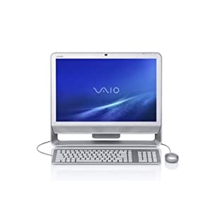 Sony VAIO VGC-JS410F/S 20.1-Inch Silver All-in-One Desktop PC (Windows 7 Home Premium) (Discontinued by Manufacturer)