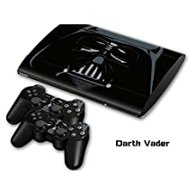 New Star Wars Darth Vader Vinyl Skin Decals Sticker For PS3 Slim Console 2 New Controller Skin Covers