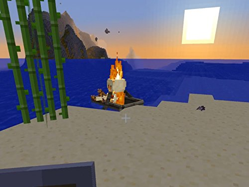 Clip: There's A Flaming Skeleton In My Boat ()