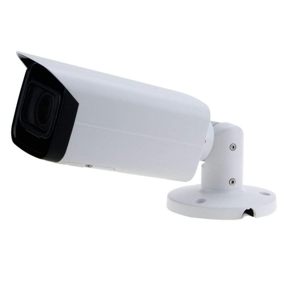 6MP POE Outdoor Bullet Camera IPC-HFW4631H-ZSA Motorized Zoom 2.7-13.5mm VF Lens 5X Optical Zoom,IR 60m, IK10, IP67 with Built-in Audio,SD Card Slot,Network CCTV,H.264 H.265 ONVIF