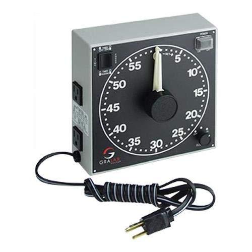 GraLab 300 60-Minute Darkroom Timer, 120V AC Power Rating by GraLab