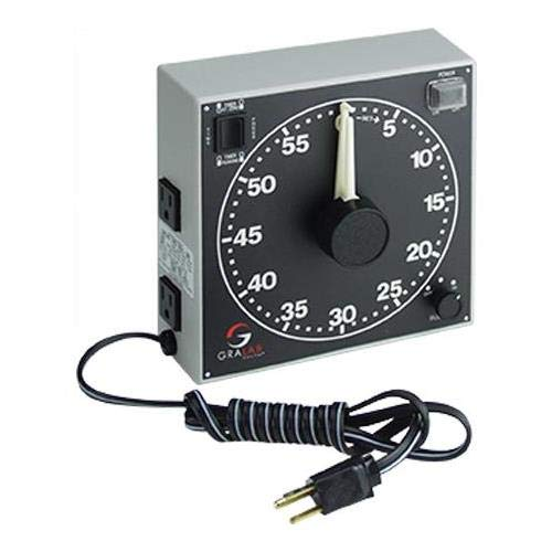 GraLab 300 60-Minute Darkroom Timer, 120V AC Power Rating