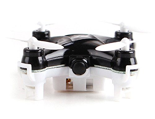 OWIKAR Mini RC Helicopter Aircraft 2.4GHz 6-Axis Gyro 4 Channel Quadcopter Drone LED Headless Mode Remote Control Plane Flight Vehicle Flying Toy Black