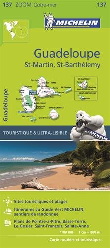 Michelin Zoom Guadeloupe Map 137 (Michelin Zoom Map)