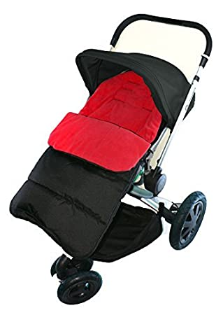 Stroller Fire Red Universal Footmuff Cosy Toes Fits All Pushchair Buggy