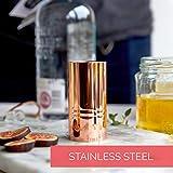Black Cocktail Jigger, Unique Bar Tool, 1.5oz and