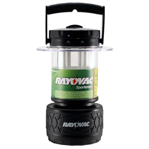 Rayovac High Beam Flashlight (Rayovac Sportsman 300 Lumen 8D Twin Tube Fluorescent Lantern (SP8DTP4))