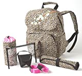 Chic Blase's Leopard Backpack Diaper Bag