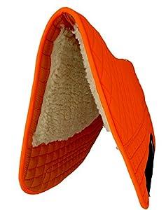 "PRI 32""x32"" Western Saddle Pad Double-Back Saddle Blankets (Neon Blaze Orange (Hunter's Safety))"