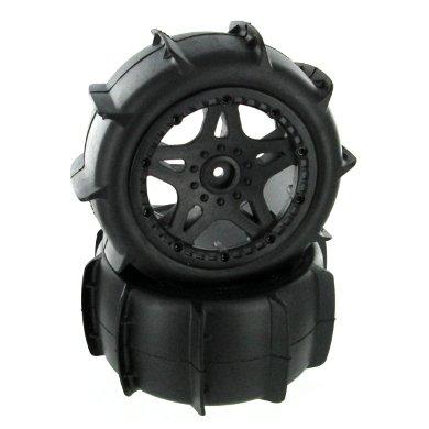 Redcat Racing 69750 Rear Bead-Lock Sand Wheels