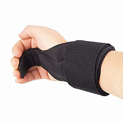 DECHO-C Adjustable Wristband Steel Wrist Brace Support Hook Gloves Lifting Hooks Muscle Training Anti-skid Gym Grips Straps Support Pack Estimated Price -