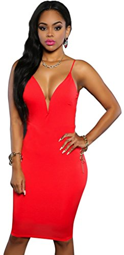 Allonly Sleeveless Backless Clubwear Cocktail product image