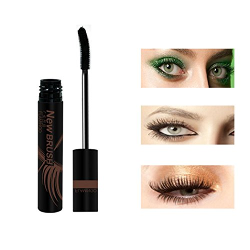 Inverlee New Eyelash Mascara Long Black Lash Extension Waterproof Eye Cosmetic Makeup Tool (Elf Face Paint Halloween)