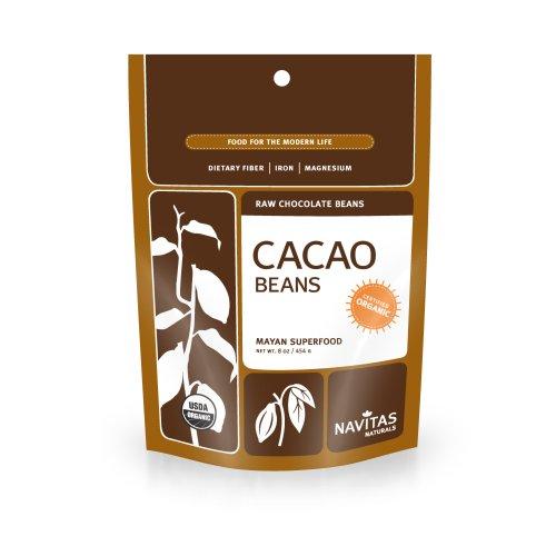 Navitas Naturals haricots crus de cacao biologique, pochettes de 8 onces