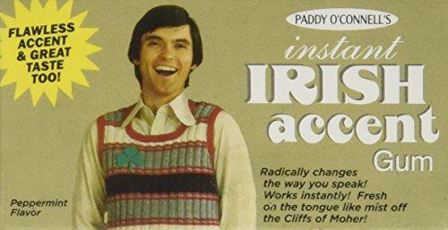 Blue Q Instant Irish Accent Gum]()