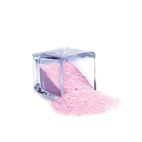 (WGVI Coarse Pink Sand 1 Pound for Wedding Unity, Decoration, Arts & Craft, and Vase Filler.)