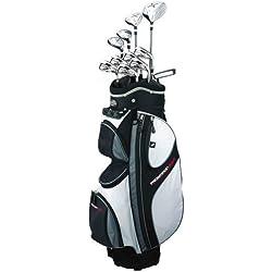 Prosimmon Golf X9 Mens GRAPHITE Hybrid Club Set & Bag