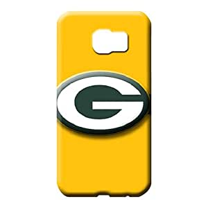 samsung galaxy s6 edge - cases Covers pattern mobile phone shells green bay packers
