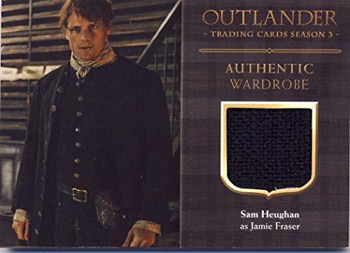 2018 Outlander Season 3 Trading Cards Wardrobe Card M13 Sam Heughan as Jamie Fraser