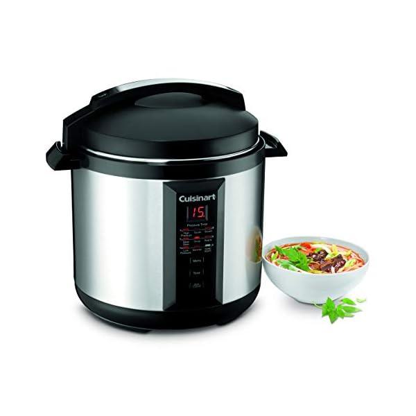 Cuisinart CPC-800 8-Quart Pressure Cooker, Silver 3