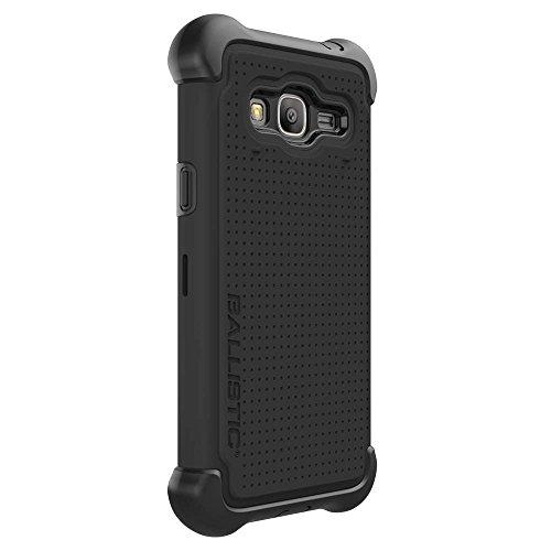 BALLISTIC Samsung Galaxy J3 Tough Jacket Maxx Case - BLACK