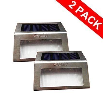 OxyLED® SL05 2pz Lampada LED ad Energia Solare Luce Bianco ...