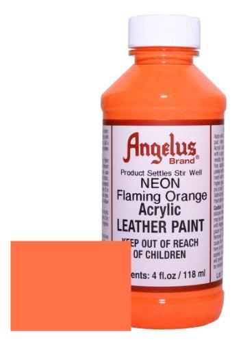 Angelus Acrylic Leather Paint 4oz Flaming