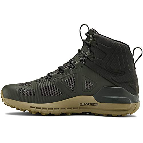 Under Armour Men's Verge 2.0 Mid Gore-TEX Hiking Boot, Baroque Green (302)/Outpost Green, 13