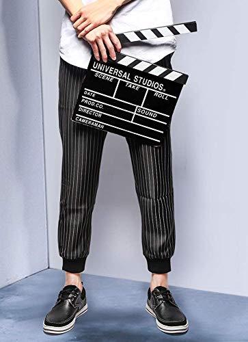 HhGold tamaño 7 Cuero US Hombres Color de US Color UK 9 Mocasines Hombres para 5 cómodos Redonda para de Negro Zapatos Negro 8 Ocasionales 6 5 UK Cordones con Tamaño Negro Cabeza 4qpSZ4wrE