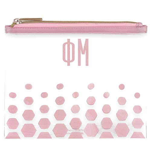 Alexandra And Company Greek Cosmetic Case, Phi Mu