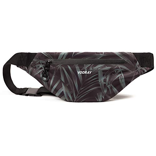 Vooray Water Resistant Stretch-Fit Active Fanny Pack for Running, Biking, Hiking, and Gym