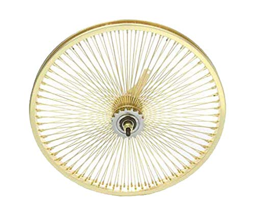 "20"" 144 Spoke Coaster Wheel 14G Gold. Bicycle wheel, bike wheel, Lowrider bike wheel, lowrider bicycle wheel, bmx, free style, chopper, cuiser, bike part, bicycle part"