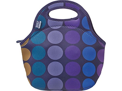 BUILT NY Gourmet Getaway Neoprene Lunch Tote, Plum - Wetsuits Canada Kids