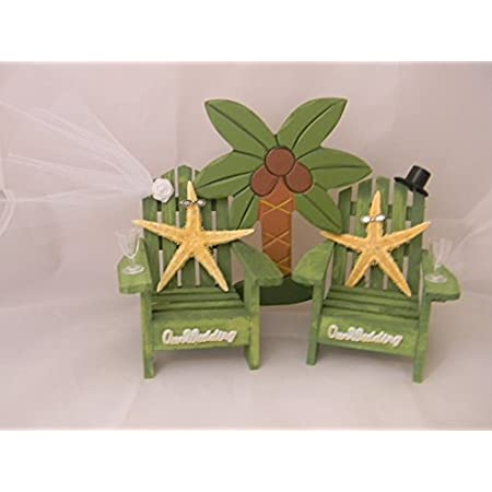 41dlP-OuHnL._SS450_ The Best Palm Tree Wedding Cake Toppers