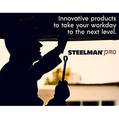 Steelman Pro 97886 11-Piece Swivel Head 3/8-Inch Drive, 9-Inch Metric Impact Extension Socket Set: Automotive