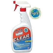 Oil Eater AOD3203600 Clear/ 32 oz. Cleaner & Degreaser Trigger Spray Bottle (Set of 12)