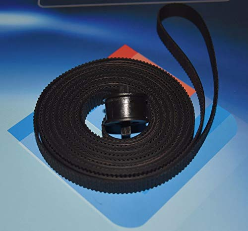 Yoton C6072-60198 LJ DesignJet 1050 1055CM 1050C Plus Carriage drive belt kit compatible new by Yoton (Image #1)
