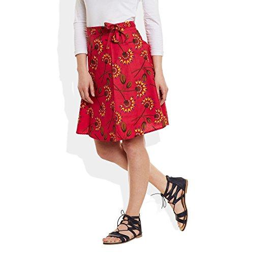 ShalinIndia - Camisola - para mujer Rosso