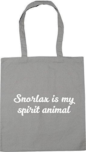spirit Beach Bag HippoWarehouse 42cm Tote Gym Light is 10 x38cm Grey Shopping my litres animal Snorlax 88xtw4qg