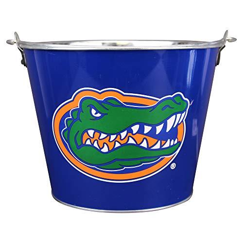 Florida Gators Flower - NCAA Full Color Team Logo Aluminum Beer and Ice Bucket (Florida Gators)