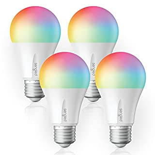 Sengled Smart Light Bulb, E26 LED Color Changing Light Bulb Works with Alexa, Google Assistant and IFTTT, Dimmable RGB Multicolor Smart Bulbs, Hub required, A19 60 Watt Equivalent, 800LM(4 Pack)