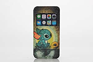For Iphone 6 Cases Rabbit Flip Plastic View Window Slim Durable Protective Flip Cover Cases for Iphone6 /6 Plus-5.5 Inch