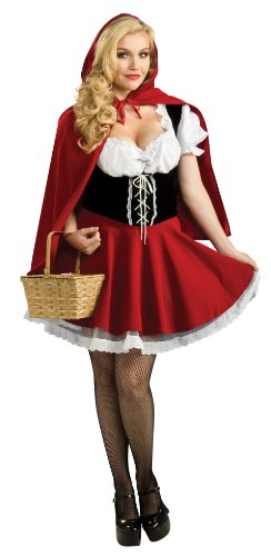 Secret Wishes Full Figure Red Riding Hood Costume - coolthings.us